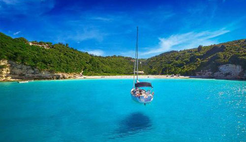 Private boat tours to Paxos